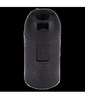 Ecola base Патрон подвесной E14 Черный(1 из ч/б уп. по 10)