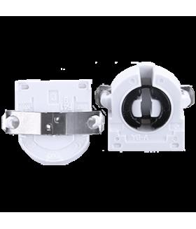 Ecola base G13 патрон торцевой поворотный с защелками и прижимной пружиной (1 из уп. по 50)