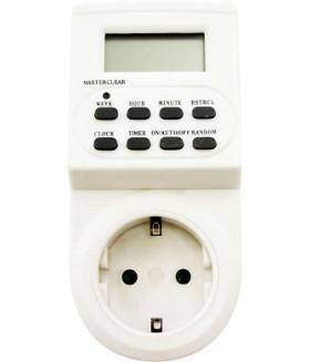 Розетка с таймером Feron TM22/61925 недельная электронная мощность 3500W/16A