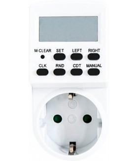 Розетка с таймером Feron TM24 недельная электронная мощность 3500W/16A