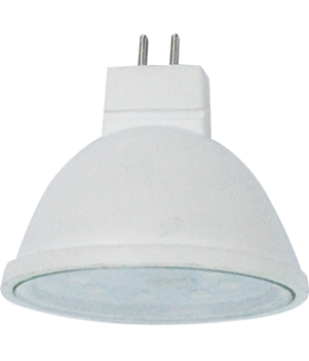 Ecola MR16 LED Premium 8,0W 220V GU5.3 2800K прозрачная 48x50