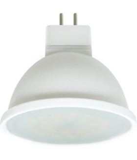 Ecola MR16 LED 7,0W 220V GU5.3 2800K матовая 48x50