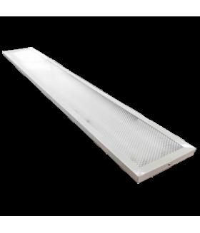 Ecola LED panel универс. (без ступеньки) панель с драйвером внутри 50W 220V 6500K Призма 1195x180x19