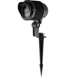 Тротуарный светильник светодиодный. на колышке (ДТУ) FERON SP2705. 6W. (зеленый)
