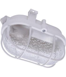 Светильник накладной с решеткой IP54, 220V 60Вт Е27, НБП 01-60-002