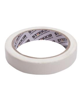 Малярная лента STEKKER INTP7-18-40 18 мм, длина 40 м, на бумажной основе, белая 39153