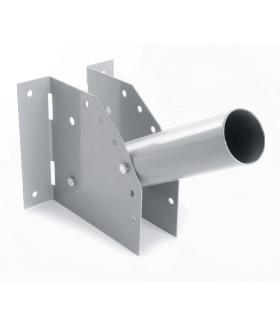 Кронштейн для уличных (консольных) светильников, посадочный диаметр 60мм, серый, ДС-1 41429