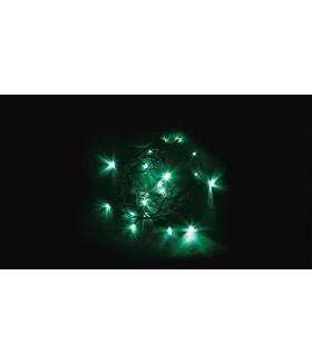 Гирлянда линейная FERON CL02. 20LED. (зеленый). настраивается контроллером. 2м+1.5м зеленый шнур