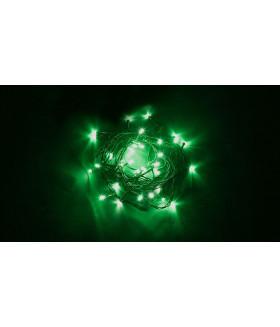 Гирлянда линейная FERON CL03. 40LED. (зеленый). настраивается контроллером. 4м+1.5м зеленый шнур