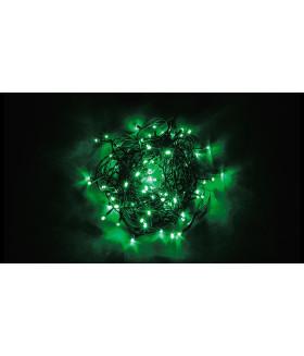 Гирлянда линейная FERON CL05. 100LED. (зеленый). настраивается контроллером. 10м+1.5м зеленый шнур