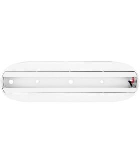 Стационарное крепление для трековых светильников (шинопровод) (кроме AL103 30 и AL104). белый. CAB1001