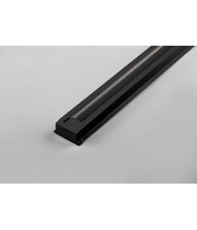 Шинопровод для трековых светильников. черный. 1м. в наборе токовод. заглушка. крепление. CAB1003