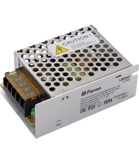 Трансформатор электронный для светодиодной ленты 30W 12V (драйвер), LB002 Артикул 41349