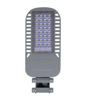 Уличный светильник консольный светодиодный. на столб (ДКУ) FERON SP3050. 30W. 5000К