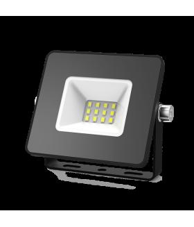 Прожектор светодиодный Gauss Elementary 10W 780lm IP65 6500К черный ПРОМО 1/20