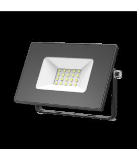 Прожектор светодиодный Gauss Elementary 20W 1320lm IP65 6500К черный ПРОМО 1/20