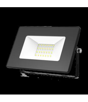 Прожектор светодиодный Gauss Elementary 30W 2100lm IP65 6500К черный ПРОМО 1/10