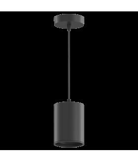 LED светильник накладной (подвесной) HD043 12W (черный/черный) 4100K 79*100мм 1/20