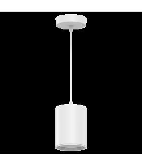 LED светильник накладной (подвесной) HD044 12W (белый/белый) 4100K 79*100мм 1/20