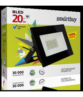 Светодиодный (LED) прожектор FL SMD Smartbuy-20W/6500K/IP65 (SBL-FLSMD-20-65K)/50