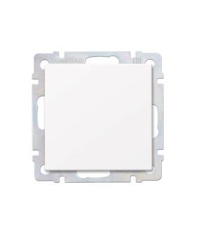 """Выключатель 1-клавишный 10А белый """"Нептун"""" (SBE-05w-10-SW1-0)"""