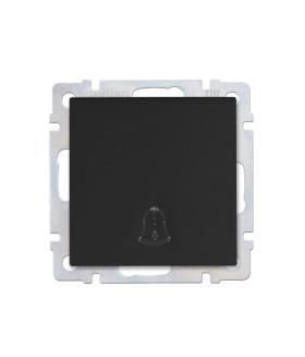 """Кнопка звонка 10А черная """"Нептун"""" (SBE-05b-10-B1-0)"""