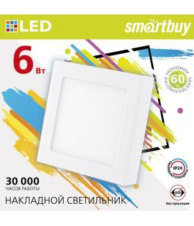 Накладной (LED) светильник Square SDL Smartbuy-6w/6500K/IP20 (SBL-SqSDL-6-65K)/100