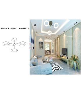Светодиодная люстра (LED) Smartbuy310-42W/W(SBL-СL-42W-310-White)