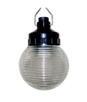 Светильник ЭРА НСП 01-60-003 подвесной Гранат стекло IP44 E27 max 60Вт D150 шар