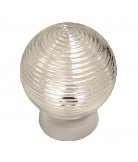 Светильник ЭРА НБП 01-60-004 с прямым основанием Гранат стекло IP20 E27 max 60Вт D150 шар