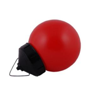 Светильник ЭРА НСП 01-60-003 подвесной Гранат полиэтилен IP44 E27 max 60Вт шар красный