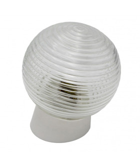 Светильник ЭРА НБП 01-60-004 с наклонным основанием Гранат стекло IP20 E27 max 60Вт D150 шар