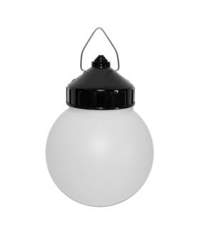 Светильник ЭРА НСП 01-60-003 подвесной Гранат полиэтилен IP44 E27 max 60Вт D150 шар белый