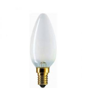 Лампа накаливания PILA B35 60W 230V E14 свеча FR 020359