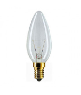011671 Лампы НАКАЛИВАНИЯ_38 напр Philips B35 60W E14 230V свеча CL