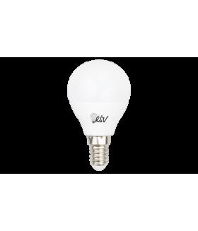 Лампа светодиодная RSV-P45-10W-6500K-E14, 160-265V, CRI>80