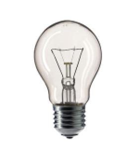 Лампа накаливания Philips A55 60W E27 230V лон CL 354563