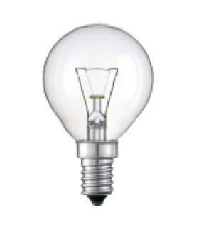 Лампа накаливания Philips P45 60W E14 230V шарик CL 066992