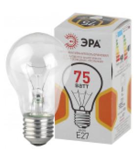 Лампа накаливания A50 75-230-Е27-CL