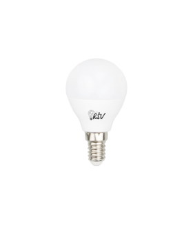 Лампа светодиодная RSV-P45-10W-6500K-E27, 160-265V, CRI>80