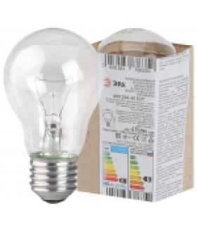 Лампа накаливания ЭРА A50 (груша) 40Вт 230В Е27