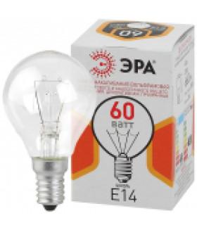 Лампа накаливания ДШ (P45) шар 60Вт 230В Е14 цветная упаковка ДШ 60-230-E14-CL