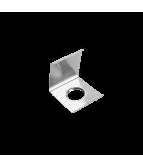 Скоба монтажная для углового профиля металлическая