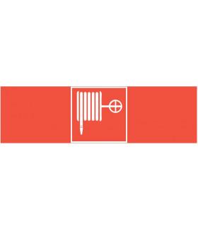 """пиктограмма """"ПОЖАРНЫЙ КРАН"""" 310х90мм для аварийно-эвакуационного светильника Basic IP65"""
