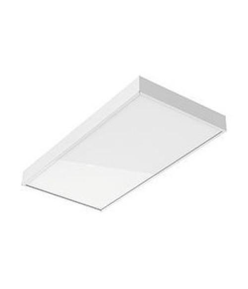 """Светодиодный светильник """"ВАРТОН"""" A370 офисный встраиваемый/накладной 15 Вт 595*295*50мм IP40 с равномерной засветкой с опаловым рассеивателем белый DALI Tunable White (2700-6500K)"""