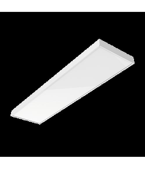 """Светодиодный светильник """"ВАРТОН"""" A350 офисный встраиваемый/накладной 30 Вт 1195*295*50мм IP40 с равномерной засветкой с опаловым рассеивателем белый DALI Tunable White (2700-6500K)"""