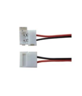 Разъем гибкий с проводом для LED ленты 4,8 и 9,6W/m IP20 8mm (соединение 2х лент)