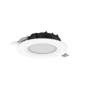 """Cветильник светодиодный """"ВАРТОН"""" DL-SLIM круглый встраиваемый 121х38мм 10W 3000K IP44 монтажный диаметр 95 мм"""
