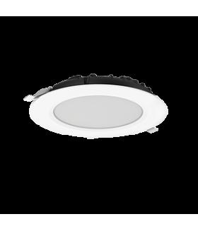 """Cветильник светодиодный """"ВАРТОН"""" DL-SLIM круглый встраиваемый 172х38мм 20W 3000K IP44 монтажный диаметр 145 мм"""