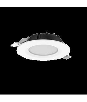 """Cветильник светодиодный """"ВАРТОН"""" DL-SLIM круглый встраиваемый 222х38мм 30W 4000K IP44 монтажный диаметр 195 мм аварийный автономный постоянного действия Teletest"""